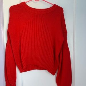 Romeo & Juliet Couture Red Sweater (NWOT)